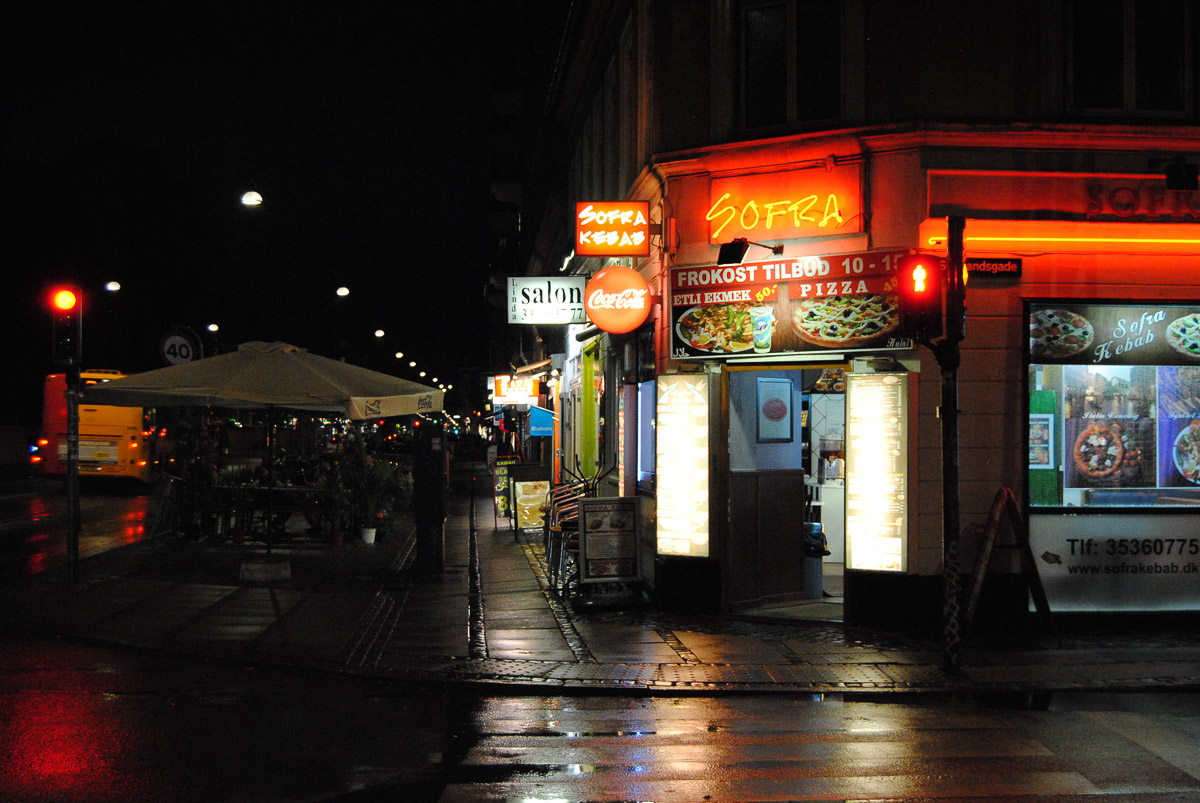It's very easy to find kebab, even at night, if you're into that sort of thing.